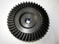 Metric bevel gears