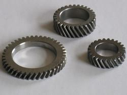 Bevel helical gear