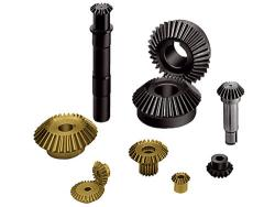 Small bevel gears