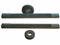 Round rack and pinion