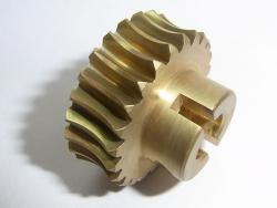 Brass worm gear