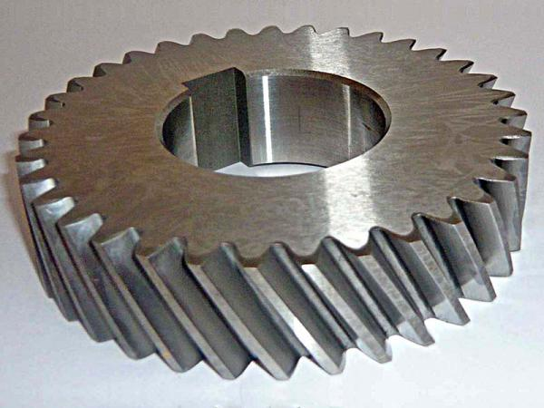 Uses of helical gear